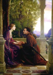 Frank Dicksee   The End of the Quest, 1921   Giclée Canvas Print