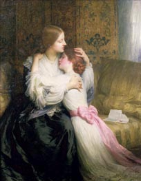 Frank Dicksee   The Mother, 1907   Giclée Canvas Print