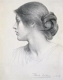 Frank Dicksee | Beatrice Stuart, 1912 | Giclée Paper Print