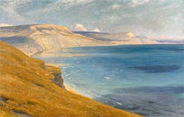 Frank Dicksee | Sea and Sunshine, Lyme Regis, 1919 | Giclée Canvas Print