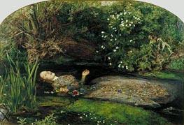 Millais | Ophelia, c.1851/52 | Giclée Canvas Print
