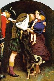 Millais   The Order of Release 1746, c.1852/53   Giclée Canvas Print