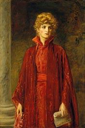Millais | Portia (Kate Dolan), 1886 | Giclée Canvas Print