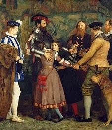 Millais | The Ransom, c.1860/62 | Giclée Canvas Print