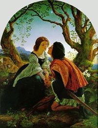 Joseph Noel Paton | Hesperus, the Evening Star, Sacred to Lovers, 1857 | Giclée Canvas Print