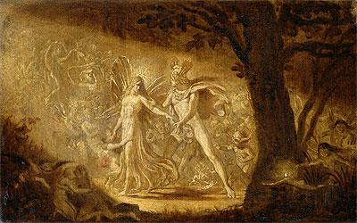The Quarrel of Oberon and Titania, c.1849 | Joseph Noel Paton | Painting Reproduction
