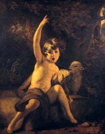 Reynolds | St John the Baptist in the Wilderness | Giclée Canvas Print