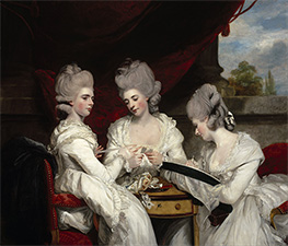 The Ladies Waldegrave, 1780 by Reynolds | Giclée Canvas Print
