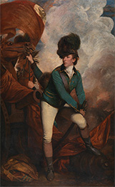 Colonel Tarleton, 1782 by Reynolds | Giclée Canvas Print