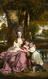 Lady Elizabeth Delme and Her Children, c.1777/79 by Reynolds | Giclée Canvas Print