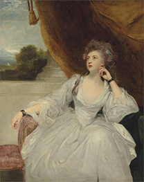 Portrait of Elizabeth Falconer, Undated by Reynolds | Giclée Canvas Print