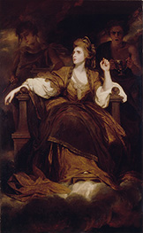 Mrs Siddons as the Tragic Muse, 1789 by Reynolds | Giclée Canvas Print
