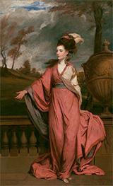 Reynolds | Jane Fleming, later Countess of Harrington, c.1778/79 | Giclée Canvas Print