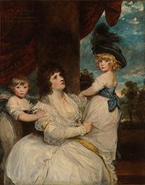 Reynolds | Jane Stanhope, Countess of Harrington, c.1786/87 | Giclée Canvas Print