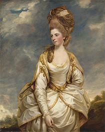 Reynolds | Sarah Campbell, c.1777/78 | Giclée Canvas Print