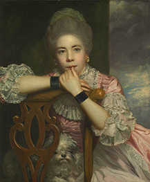 Reynolds | Mrs. Abington as Miss Prue in Love for Love, 1771 | Giclée Canvas Print