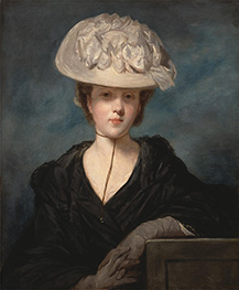 Reynolds | Miss Mary Hickey, c.1769/73 | Giclée Canvas Print