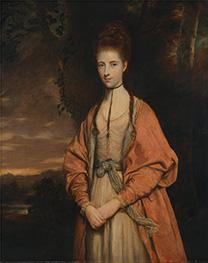 Reynolds | Anne Seymour Damer, 1773 | Giclée Canvas Print