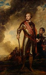 Reynolds | Charles Stanhope, third Earl of Harrington, and a Servant, 1782 | Giclée Canvas Print