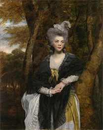 Reynolds | Lady Frances Finch, c.1781/82 | Giclée Canvas Print