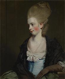 Reynolds | Miss Offy Palmer, c.1777/81 | Giclée Canvas Print