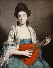Reynolds | Mrs. Robert Froude, nee Phillis Hurrell, 1762 | Giclée Canvas Print