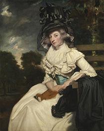 Reynolds | Mrs. Lewis Thomas Watson, 1789 | Giclée Canvas Print