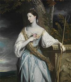 Reynolds | Anne Dashwood, Later Countess of Galloway, 1764 | Giclée Canvas Print