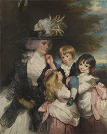 Reynolds | Lady Smith and Her Children, 1787 | Giclée Canvas Print