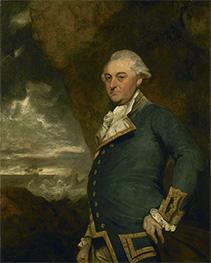 Reynolds | Captain John Gell, 1786 | Giclée Canvas Print