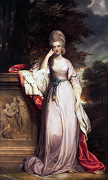 Reynolds | Anne, Viscountess Townsend, Later Marchioness Townshend, c.1779/80 | Giclée Canvas Print
