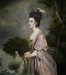 Reynolds | Portrait of Mrs. Richard Crofts, 1775 | Giclée Canvas Print