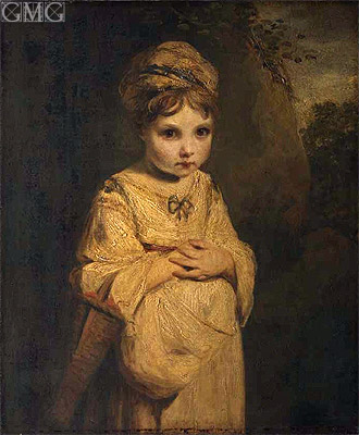 The Strawberry Girl, c.1772/73 | Reynolds | Painting Reproduction