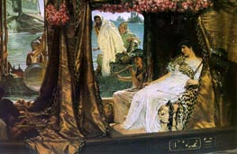 Alma-Tadema | Antony and Cleopatra | Giclée Canvas Print