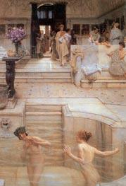 Alma-Tadema | A Favourite Custom | Giclée Canvas Print