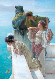 Alma-Tadema   A Coign of Vantage   Giclée Canvas Print