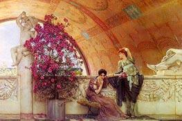 Alma-Tadema   Unconscious Rivals   Giclée Canvas Print