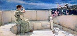 Alma-Tadema   Expectations   Giclée Canvas Print