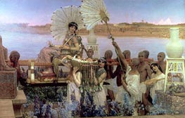Alma-Tadema   The Finding of Moses   Giclée Canvas Print
