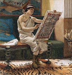 Alma-Tadema | A Roman Artist, Undated | Giclée Paper Print