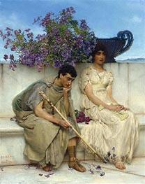 Alma-Tadema | An Eloquent Silence, Undated | Giclée Canvas Print