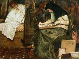 Alma-Tadema | The Nurse, Undated | Giclée Canvas Print