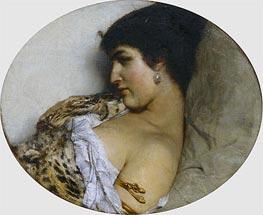 Alma-Tadema | Cleopatra, 1875 | Giclée Canvas Print