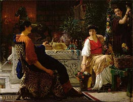 Alma-Tadema | Preparations for the Festivities, 1866 | Giclée Canvas Print