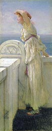 Alma-Tadema | Hopeful, 1909 | Giclée Canvas Print