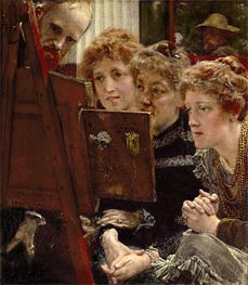 Alma-Tadema | A Family Group, 1896 | Giclée Canvas Print