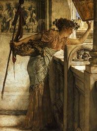 Alma-Tadema | A Bacchante, 1875 | Giclée Canvas Print
