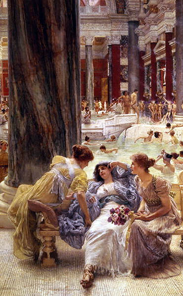 The Baths of Caracalla, 1899   Alma-Tadema   Painting Reproduction