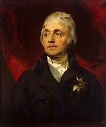 Thomas Lawrence | Portrait of Count Semyon Vorontsov, c.1805/06 | Giclée Canvas Print