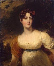 Thomas Lawrence | Portrait of Emily Harriet Wellesley-Pole, 1814 | Giclée Canvas Print